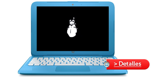 HP Stream 11 mejor laptop linux