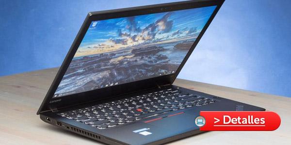 Mejores laptops para Linux Lenovo ThinkPad T470