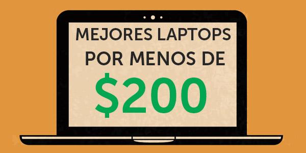 laptops por menos de $200